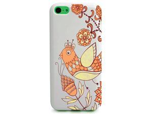 UV Printed TPU Phone Case - Hand Drawn Spring Bird Flower