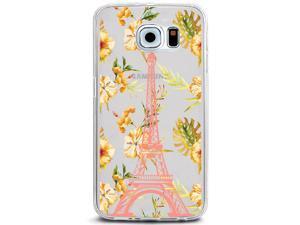 UV Printed TPU Phone Case - Paris Eiffel Tower Flower