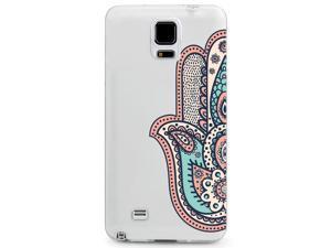 UV Printed TPU Phone Case - Colorful Hamsa Art