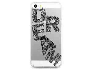 UV Printed TPU Phone Case - Floral Dream Script
