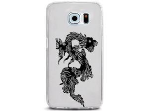 UV Printed TPU Phone Case - Asian Dragon