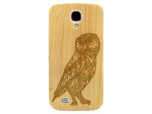 Laser Engraved Wood Phone Case - Floral Paisley Owl (Maple, Cherry, Black, Cork) for iPhone 4/4s, iPhone 5/5s/SE, iPhone 6/6s, iPhone 6/6s Plus, Galaxy S4, Galaxy S5, Galaxy S6, Galaxy S6 Edge