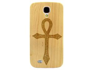 Laser Engraved Wood Phone Case - Egyptian Ankh Symbol of Life (Maple, Cherry, Black, Cork) for iPhone 4/4s, iPhone 5/5s/SE, iPhone 6/6s, iPhone 6/6s Plus, Galaxy S4, Galaxy S5, Galaxy S6/S6 Edge
