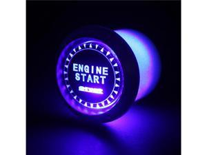 Spyder Auto Engine Starter Button - Blue LED