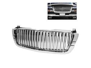 Spyder Auto Chevy Silverado 03-06 Center Only ( Require HD-YD-CS03-1PC Headlight ) Front Grille - Chrome