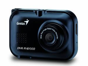 Genius DVR-FHD568 Vehicle Dash Cam with 2.4-Inch LCD (Black)