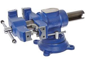 "Yost Model 750-Di, Yost 5-1/8"" Multi-Jaw Rotating Combination Pipe & Bench Vise"