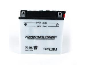 UPG Adventure Power 12N9-4B-1 Conventional Power Sports Battery 41542