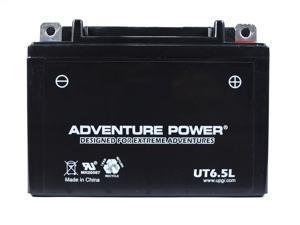 UPG Adventure Power UT6.5L Sealed AGM Power Sports Battery 42041