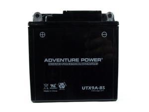 UPG Adventure Power UTX9A-BS Dry Charge AGM Power Sports Battery 43016