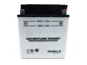 UPG Adventure Power UB30CL-B Conventional Power Sports Battery 42543