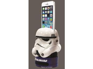 Plasticolor 008400R01 Star Wars Stormtrooper Speaker & Holder Eco Sound Box