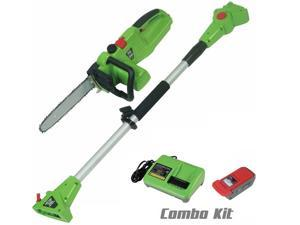 Ecopro Tools 40v Li-Ion Powered 2in1 Pole Saw / 12