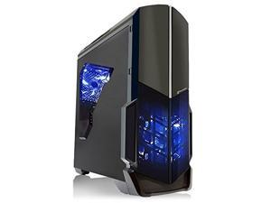 SkyTech Shadow AMD-730 Desktop Gaming Computer PC (FX-4300 3.8 GHz 4-Core, GT 730 2GB GDDR3 Graphic, 8GB DDR3, 1TB HDD, 24x DVD, 430 Watts PSU, Win 10 PRO)