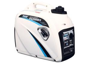 Pulsar PG2000IS 2000 Watt Digital Inverter Gas Generator with 80cc OHV Engine and 1.18 Gallon Tank - PG2000IS