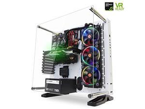 SkyTech ST-SUPREMACY-VR1080 Supremacy Gaming Computer PC Desktop i7-6700K 4.0Ghz, 360mm RGB Liquid Cooled, GTX 1080 8GB, 2TB HDD, 480GB SSD, 32GB DDR4, Win 10 Pro 64-Bit