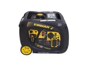 Firman Power Equipment 3000 #47;3300 Watt Extended Run Time Portable Gas Inverter with Electric and