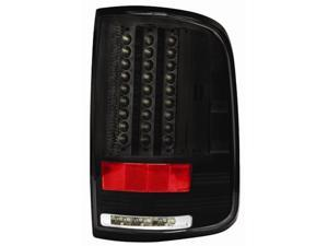 IPCW Tail Lamp LED LEDT-560CB 04-08 Ford F150 / F250 LD Bermuda Black (Not fit for Super Duty)