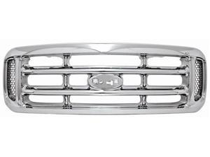 IPCW Grille CWG-FD1107A0C 00-04 Ford Excursion 00-04 Ford Super Duty Chrome