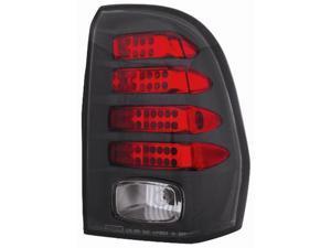 IPCW Tail Lamp LED LEDT-345CB 02-09 Chevrolet TrailBlazer Bermuda Black