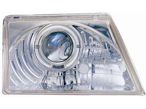 IPCW CWS-506C2 Ford Ranger 1998 - 2000 Head Lamps, Projector With Rings Chrome