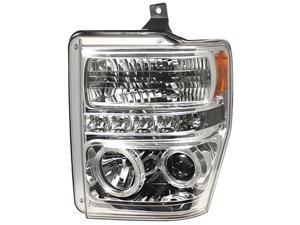 IPCW Projector Headlight CWS-561C2 08-10 Ford Super Duty Chrome