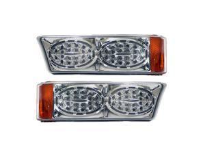 APC Chrome Housing  Clear Diamond Cut Parking Lamps, Chevrolet Silverado                                      403462PLD
