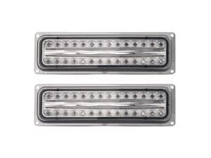 APC Smoked Diamond Cut Parking Lamps, Chevy/GMC CK P/U /Blazer/Suburban/Tahoe/Yukon  403460PLS