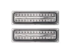 APC Smoked Diamond Cut Parking Lamps, Chevy/GMC CK P/U /Blazer/Suburban/Tahoe/Yukon  403460PLS