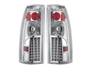 APC Chrome Diamond Cut Tail Lamps,Chevy/GMC CK/Blazer/Suburban/Tahoe/Yukon/Escalade               407507TLC
