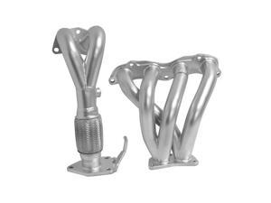 DC Sports Ceramic Coated Header AHC6016 Silver