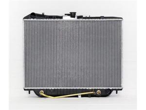 07/93-11/97 HONDA PASSPORT V6 3.2L PAC RADIATOR PLASTIC TANK/ALUMINIUM CORE 2ROWS TOYO-ONLY PR1571A