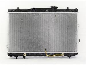 04-09 KIA SPECTRA A/T 4CY 2.0L PAC RADIATOR PLASTIC TANK/ALUMINIUM CORE 1ROW PR2784A