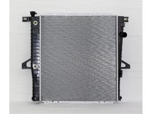 98-01 FORD EXPLORER AT/MT 6CY 4.0L PAC RADIATOR SOHC ENGINE PLASTIC TANK/ALUMINIUM CORE 1ROW PR2173A