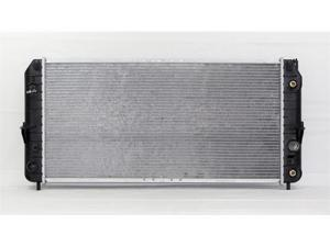 98-00 CADILLAC SEVILLE AT/MT V8 4.6L PAC RADIATOR SLS/STS RPO-V03 WITHOUT EXTRA CAPACITY AC PLASTIC TANK/ALUMINIUM CORE 1ROW PR2279A