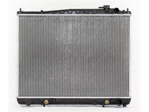 "97-00 INFINITI QX4 A/T 6CY 3.3/3.5L 1"" HEAVY DUTY PAC RADIATOR PLASTIC TANK/ALUMINIUM CORE 1ROW PR2075A"