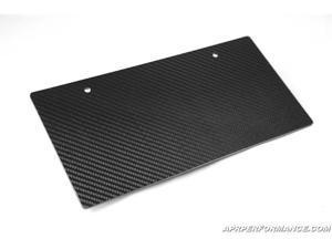 Carbign Craft Carbon Fiber License Plate CBA-LICPLATEII
