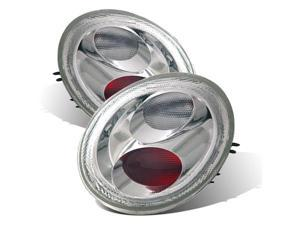 CG VOLKSWAGEN BEETLE 98-02 TAILLIGHT CHROME 03-VB9800TLAG2 PAIR