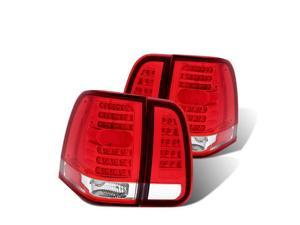 CG LINCOLN NAVIGATOR 03-06 L.E.D TAILLIGHT 4 PCS RED/CLEAR 03-LN03TLED PAIR