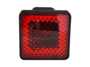 Bully Square Hitch Cover with Brake Light CR-007