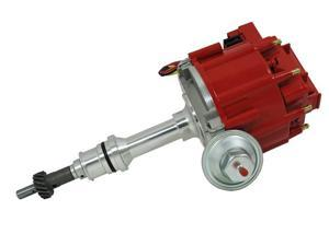 TSP HEI DISTRIBUTOR - FORD 289 302W V8 ENGINES, 50K V COIL, RED CAP JM6502R