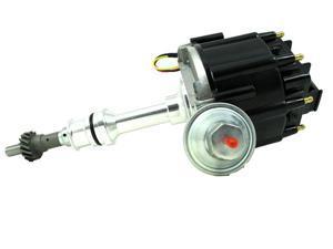 TSP HEI DISTRIBUTOR FORD 351C 429 460 CLEVELAND V8 50K V COIL BLACK CAP JM6506BK
