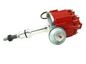 TSP HEI DISTRIBUTOR - FORD 351WINDSOR V8 ENGINES, 50K V COIL, RED CAP JM6510R