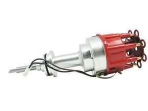 TSP Pro Billet Distributor CHRYSLER/DODGE MOPAR 318 340 360 SB V8 REDCAP JM6613R