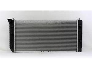PAC 00-05 BUICK BONEVILLE AT/MT,6CY,3.8L 00-00 BUICK LESABRE AT/MT,6CY,3.8L Radiator 1-row PLASTIC TANK/ALUMINIUM CORE PR2347A