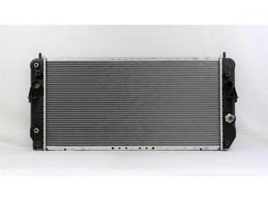 PAC 00-00 CADILLAC DEVILLE AT/MT,8CY,4.6L Radiator 1-row PLASTIC TANK/ALUMINIUM CORE PR2352A