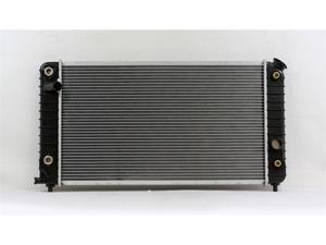 PAC 94-95 CHEVROLET BLAZER JR A/T,6CY,4.3L 94-95 CHEVROLET S10 A/T,6CY,4.3L 94-95 GMC JIMMY A/T,6CY,4.3L 94-95 GMC SONOMA A/T,6CY,4.3L Radiator 1-row PLASTIC TANK/ALUMINIUM CORE PR1533A