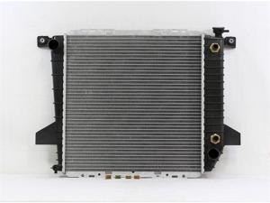 PAC 95-97 FORD BRONCO II AT/MT,4CY,2.3L 95-97 FORD RANGER AT/MT,4CY,2.3L 95-97 MAZDA PICKUP AT/MT,4CY,2.3L Radiator 1-row PLASTIC TANK/ALUMINIUM CORE PR1726A