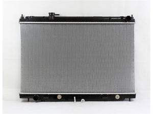 PAC 06-08 INFINITI M35 A/T Radiator 1-row PLASTIC TANK/ALUMINIUM CORE PR2780A