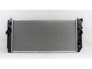 PAC 97-05 BUICK PARK AVENUE AT/MT,6CY,3.8L Radiator 1-row PLASTIC TANK/ALUMINIUM CORE PR1880A